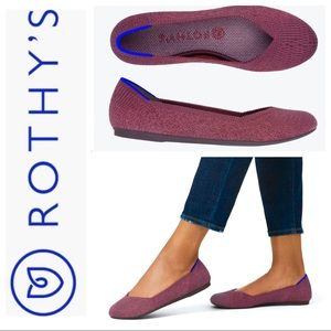 BRAND NEW ROTHY'S Flat with Inserts SHOES